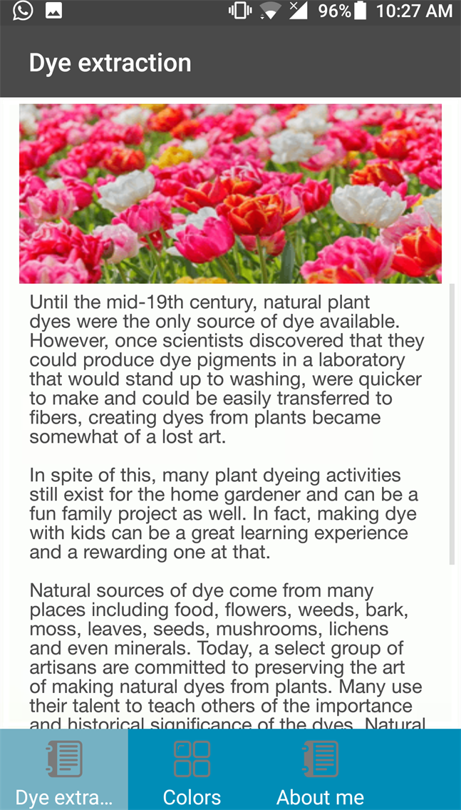 CSE14327-DYES FROM FLOWERS