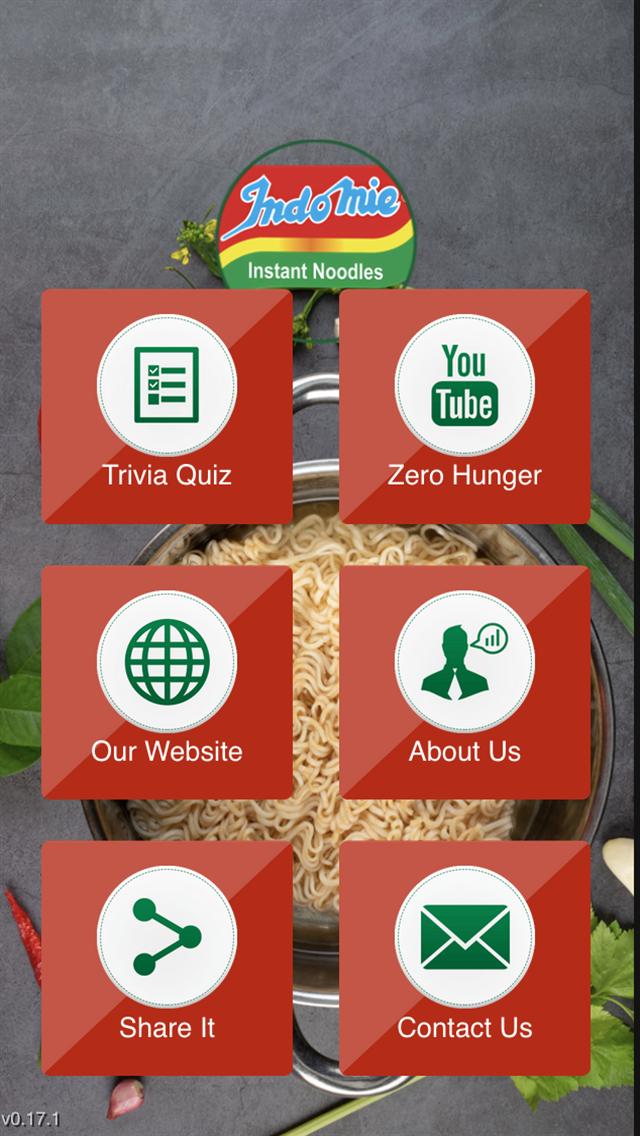 Trivia Game for Zero Hunger