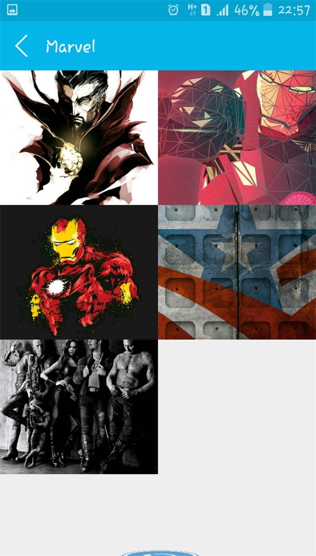 marvel & dc wallpaper