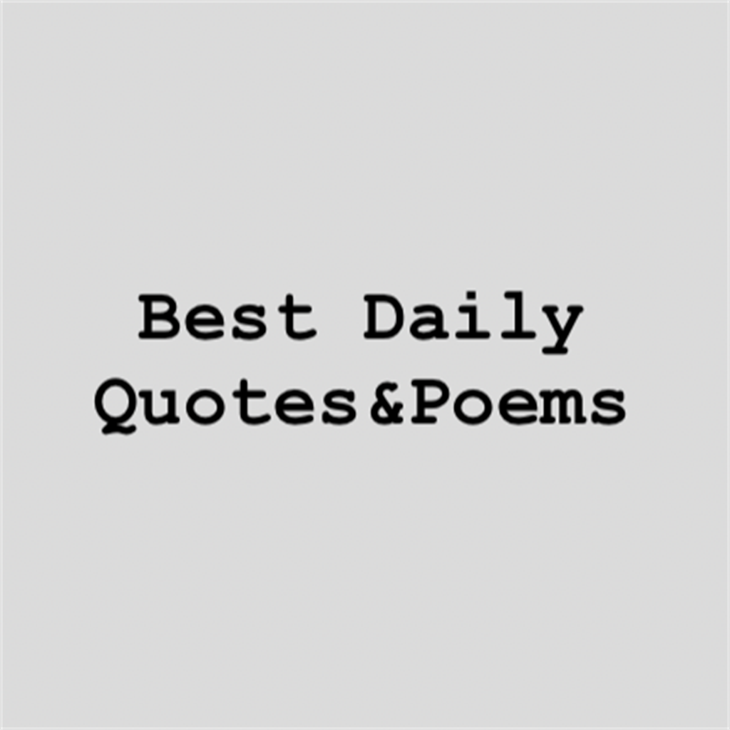 Best Daily Quotes&Poems