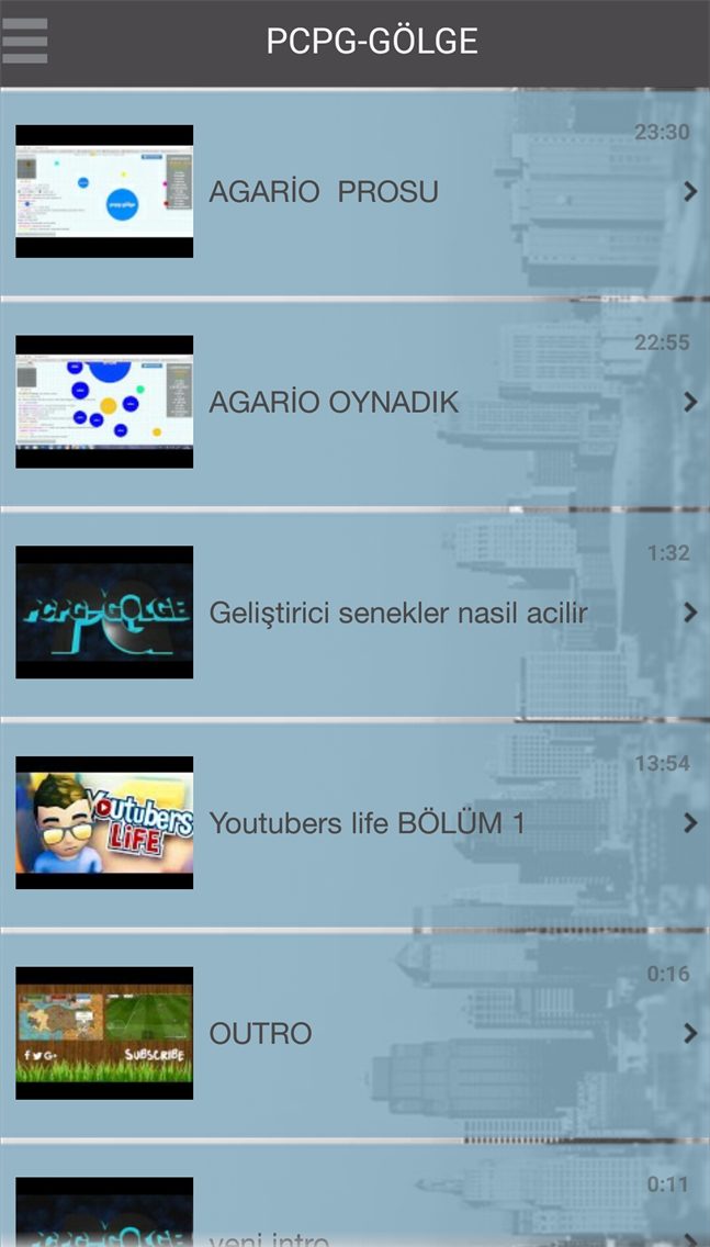 PCPG-GÖLGE