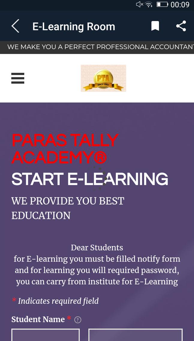 Paras Tally Academy® Lite