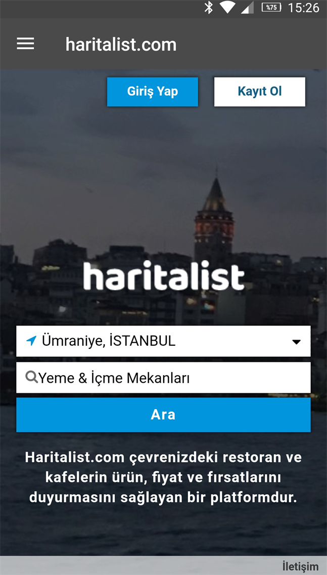 haritalist