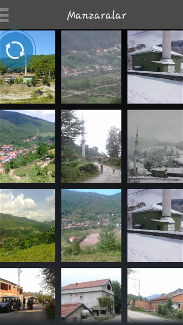 Saraycık köyü