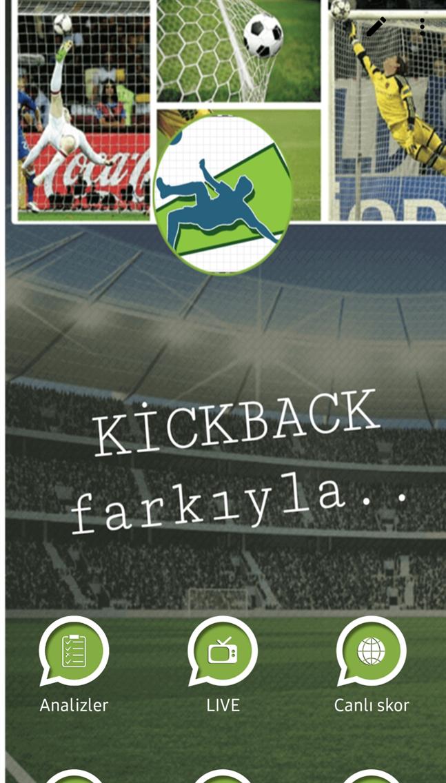 Kickback live