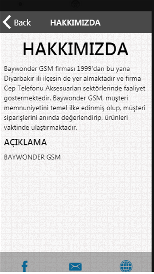 Baywonder Gsm