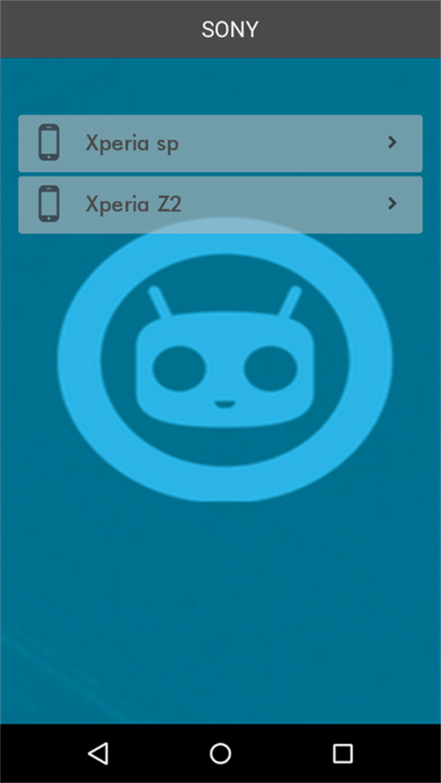 CyanogenMod Rom search
