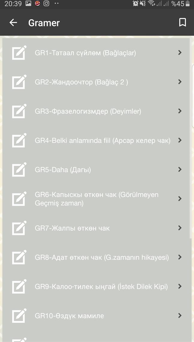 Kırgızca Öğreniyorum