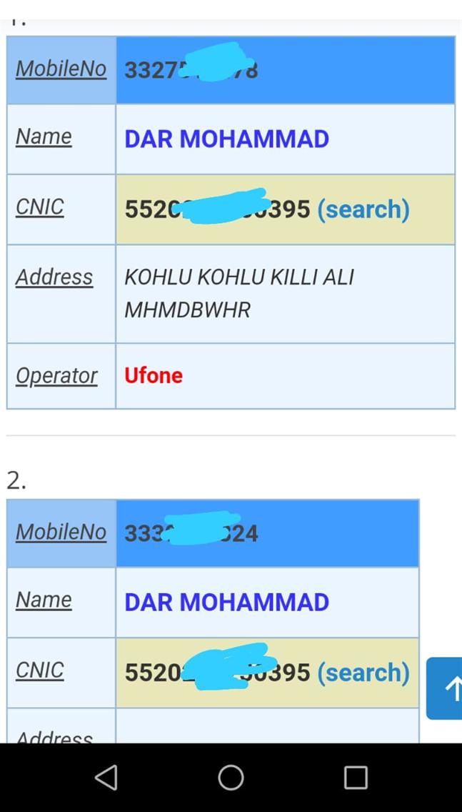 Bismillah Database