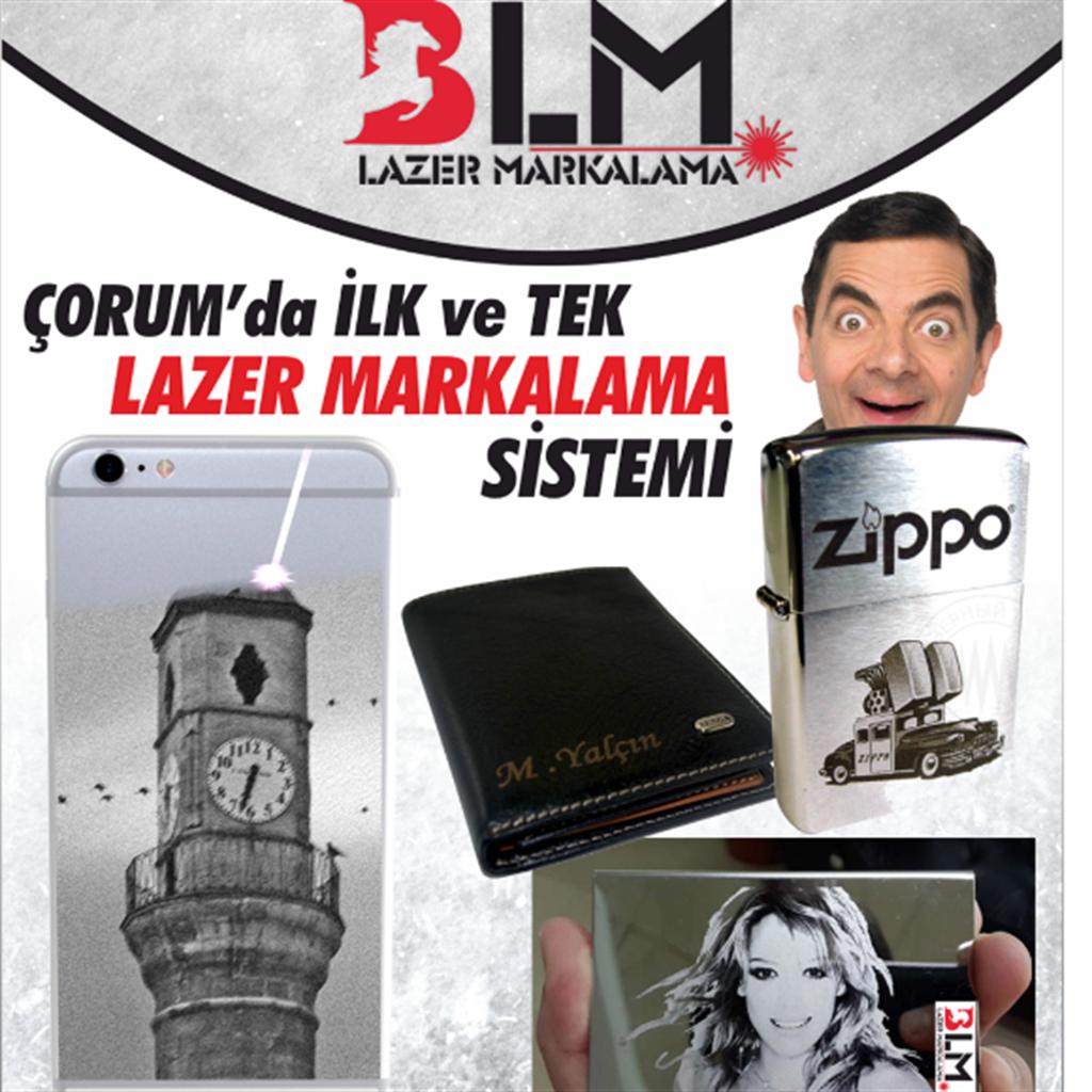 Blm Lazer Markalama