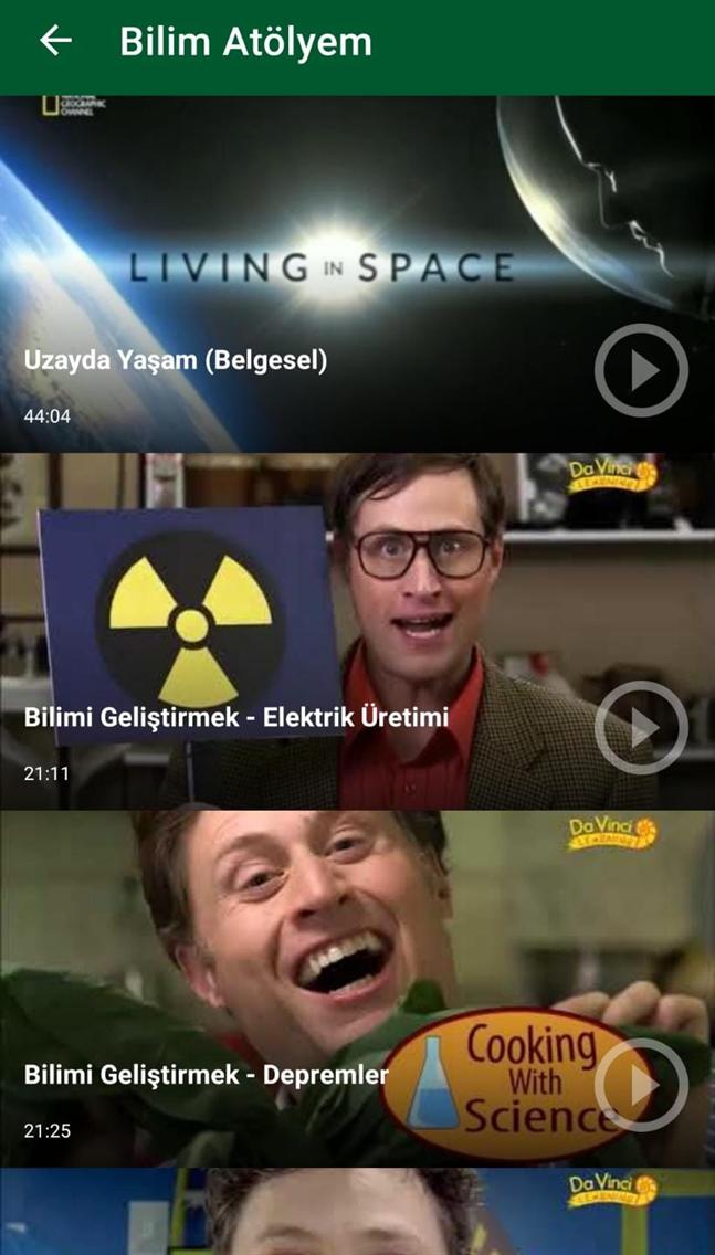 Bilim Atölyem