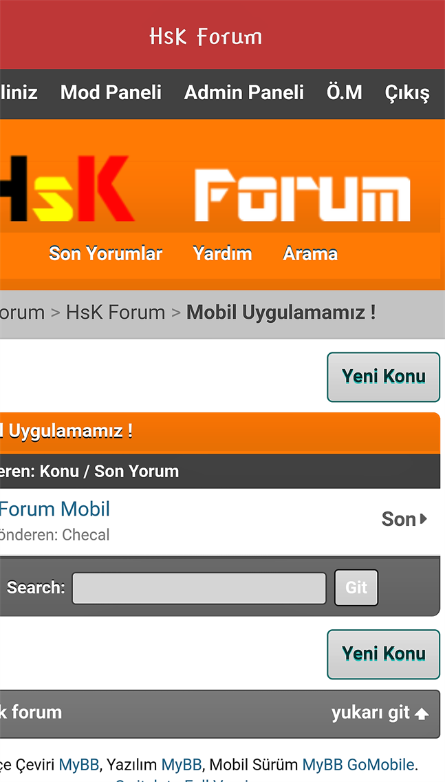 HsK Forum