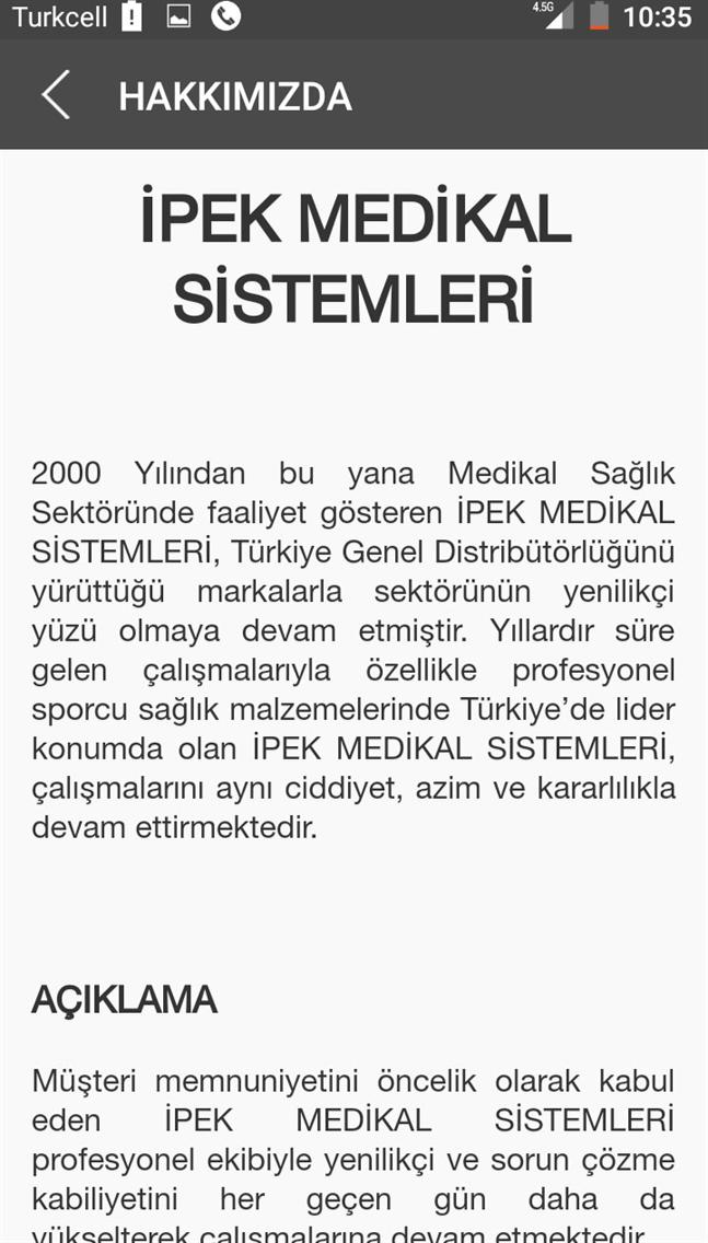 İpek Medikal Sistemleri