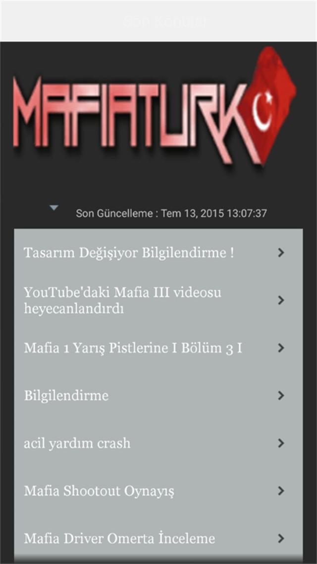 MafiaTurk Mobile