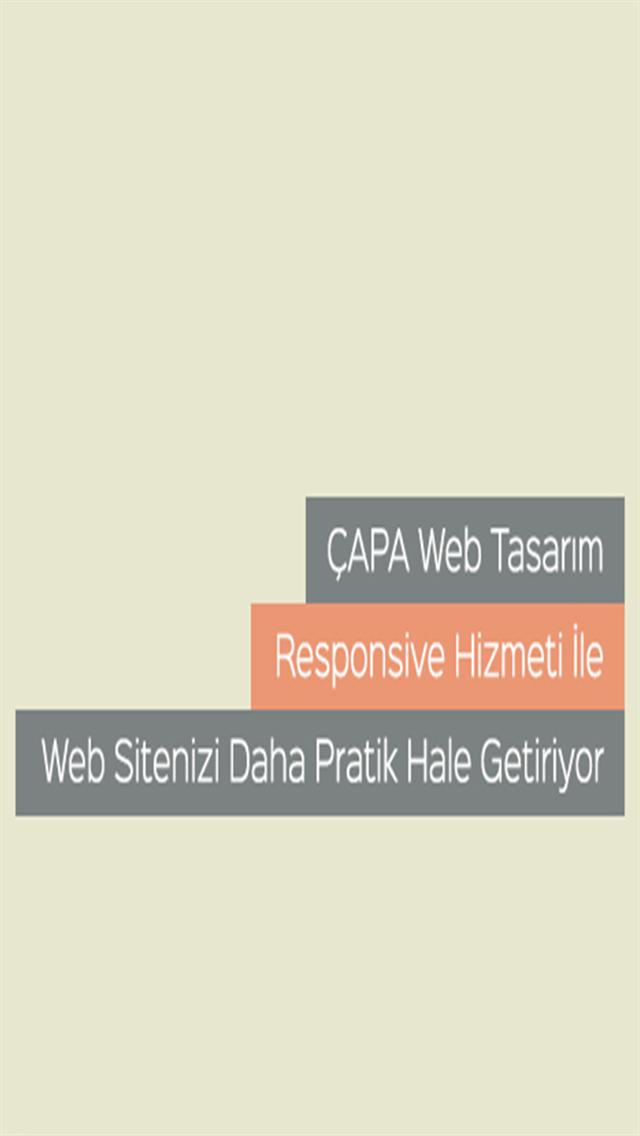 Çapa Web Tasarım