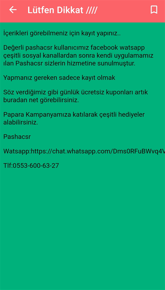 Pashacsr