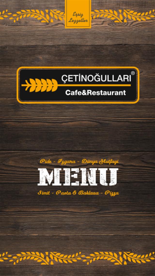 ÇETİNOĞULLARI CAFE RESTAURANT