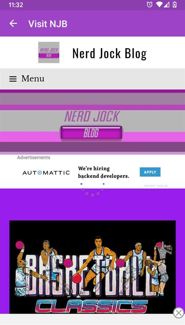 Nerd Jock Blog