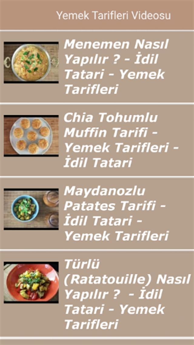Vİdeolu Yemek Tarifleri