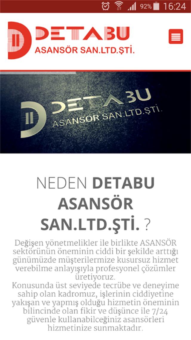 DETABU ASANSÖR