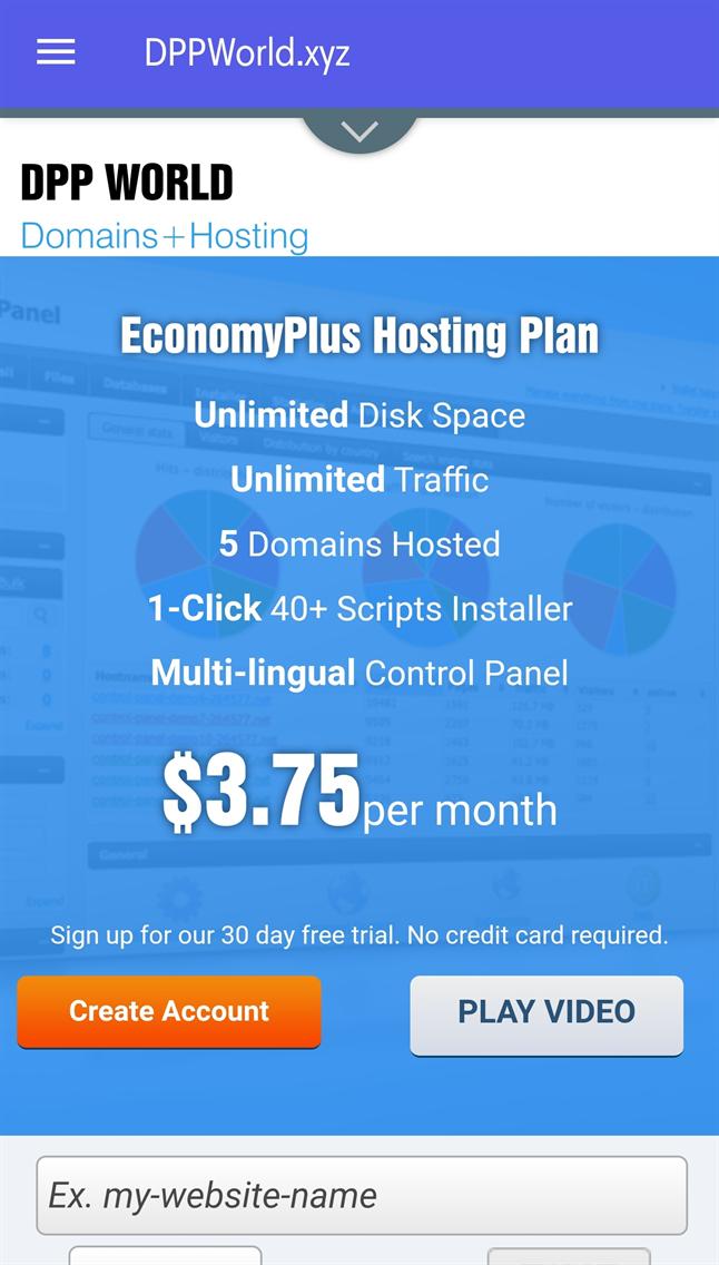 DPP World - Domains+Hosting