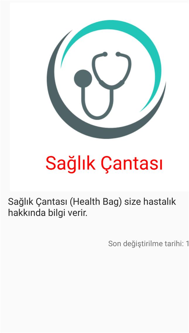 Sağlık Çantası
