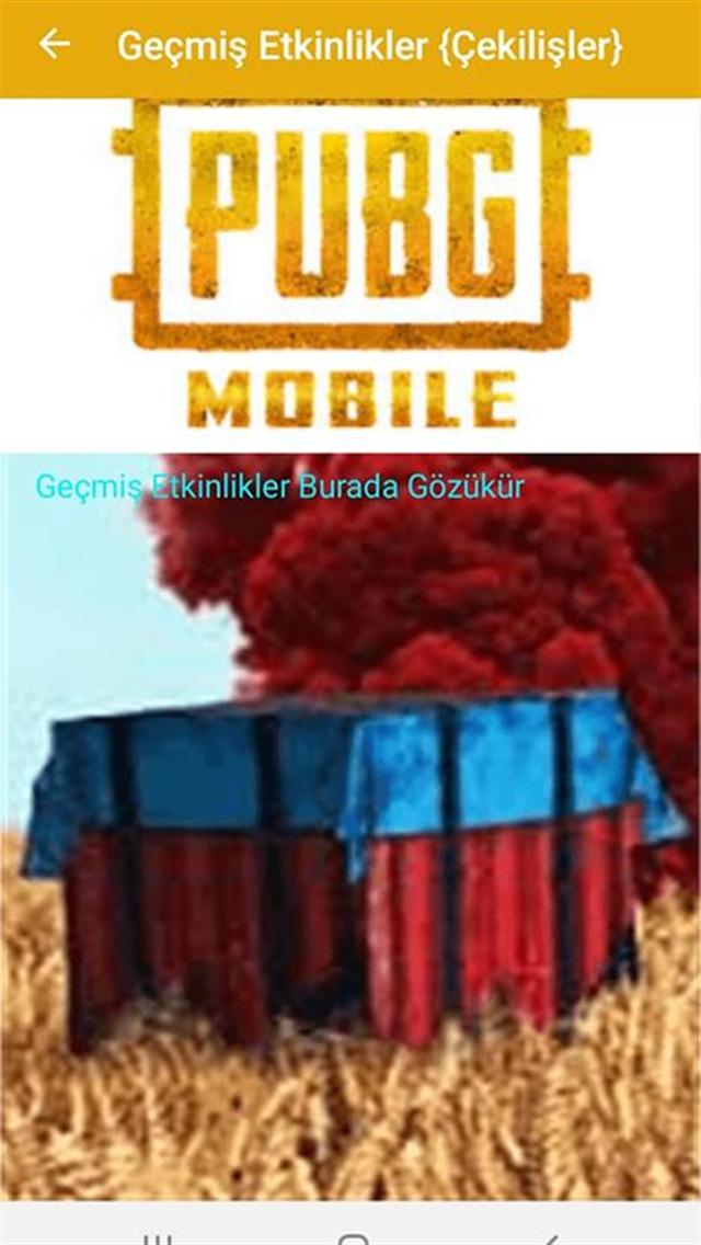PUBG Mobile BEDAVA UC