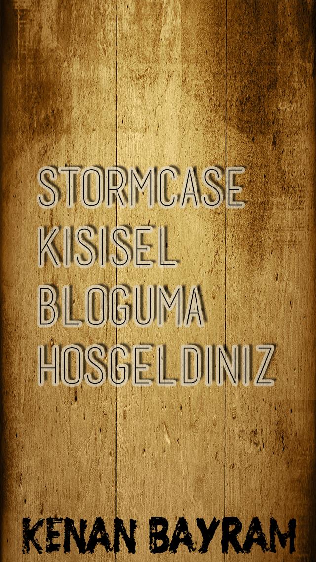 StormCase - Kişisel Blog