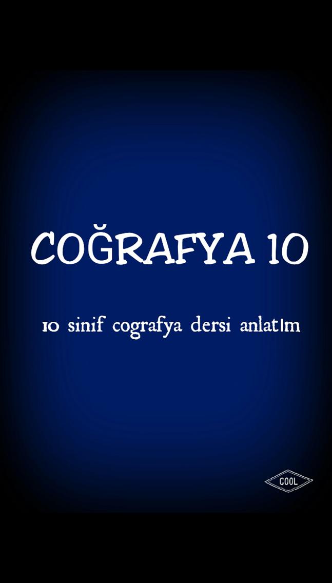 Coğrafya 10