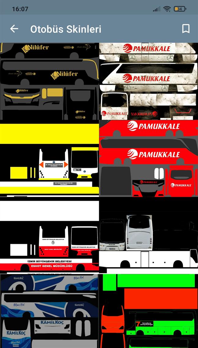 Otobüs Simulator Ultimate Skin