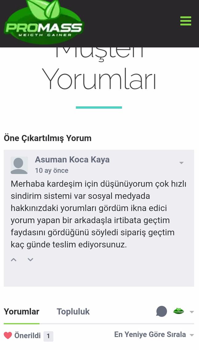 Promass Türkiye