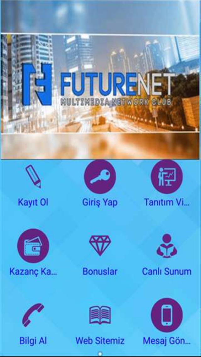 FutureNet Tanıtım ve Üyelik