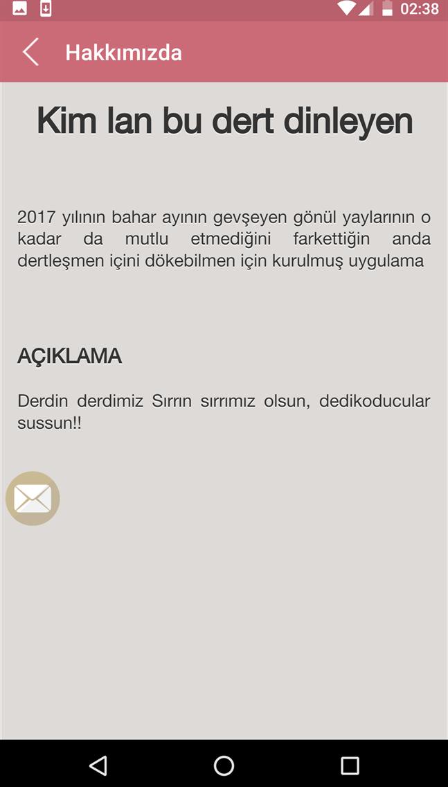 DERT DİNLENİR