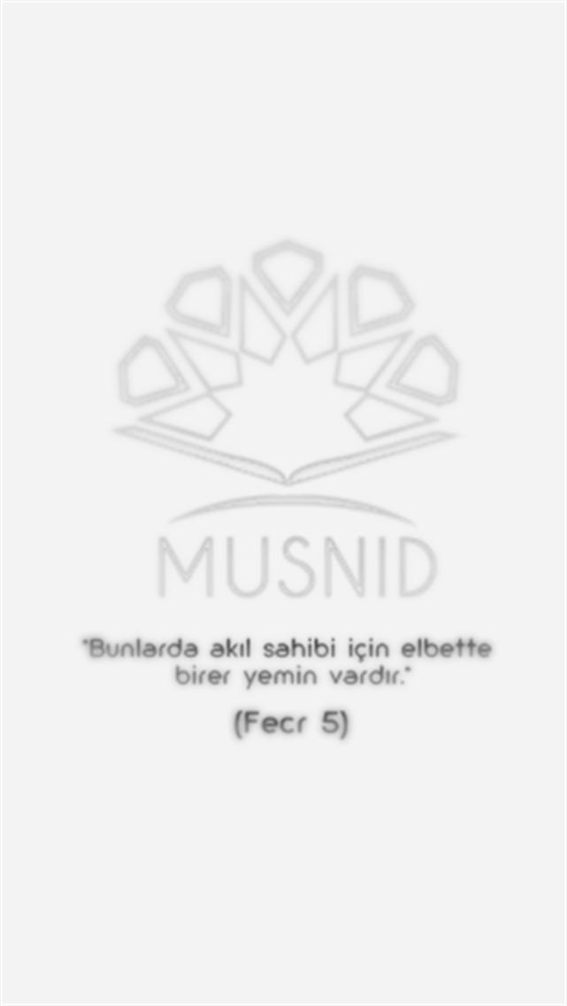 Musnid | Sahih Hadis-i Şerif