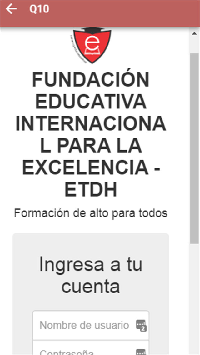 Fundacion Educativa-ETDH