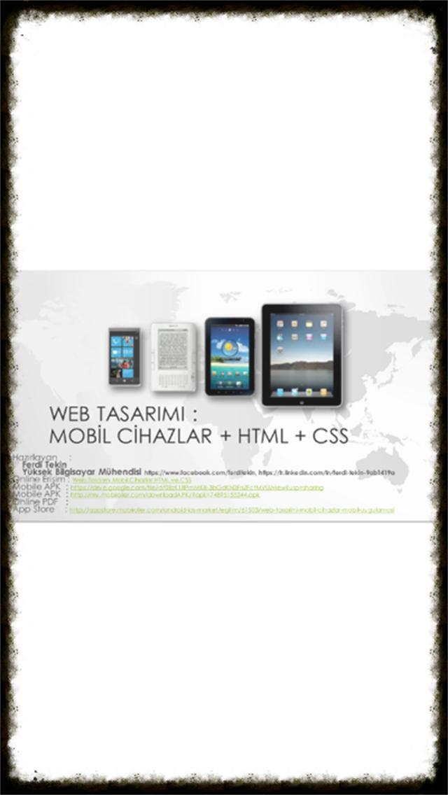 WEB TASARIMI : MOBİL CİHAZLAR