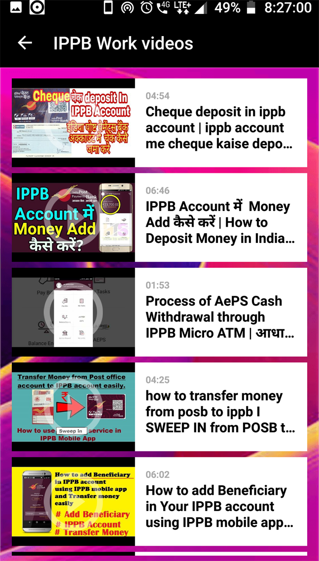 IPPB Service