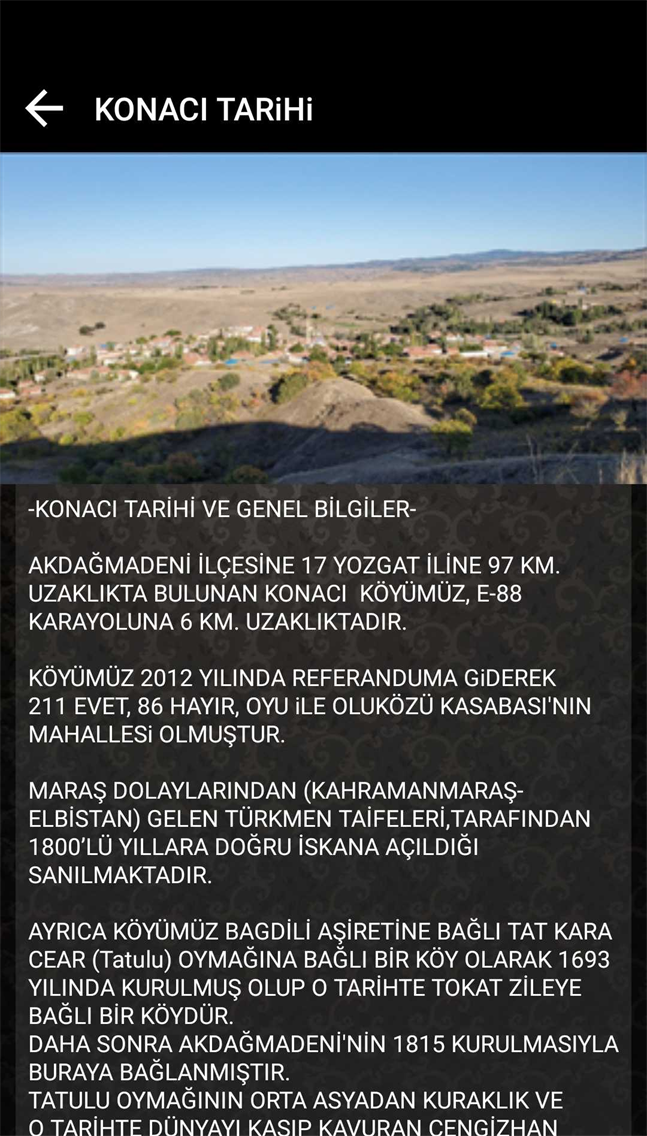 Konacı Köyü