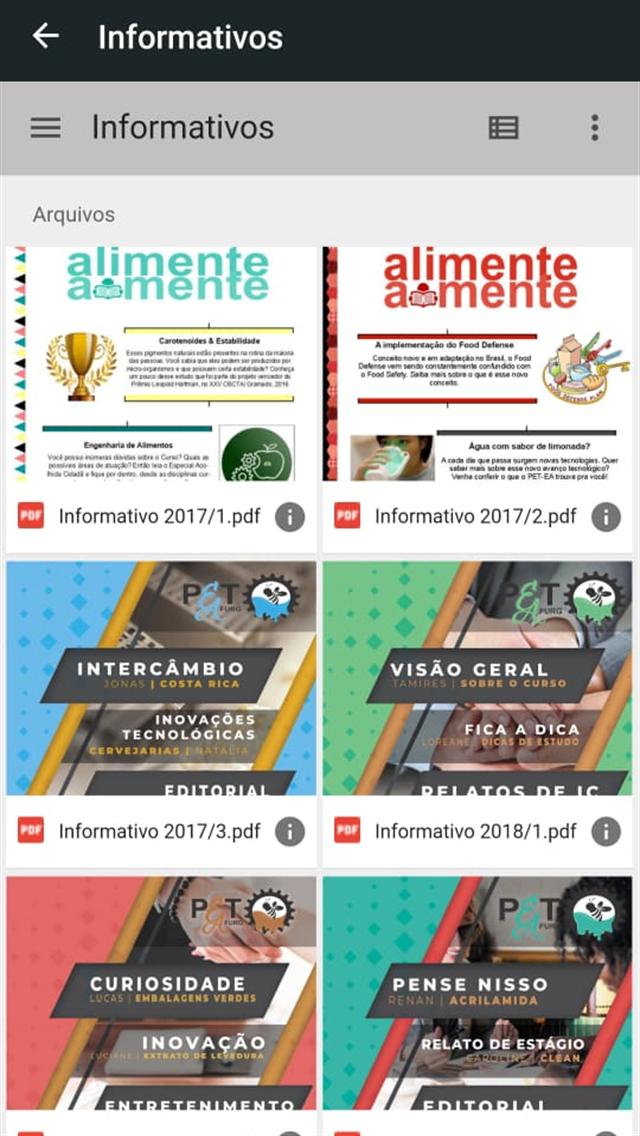 App do PETEA