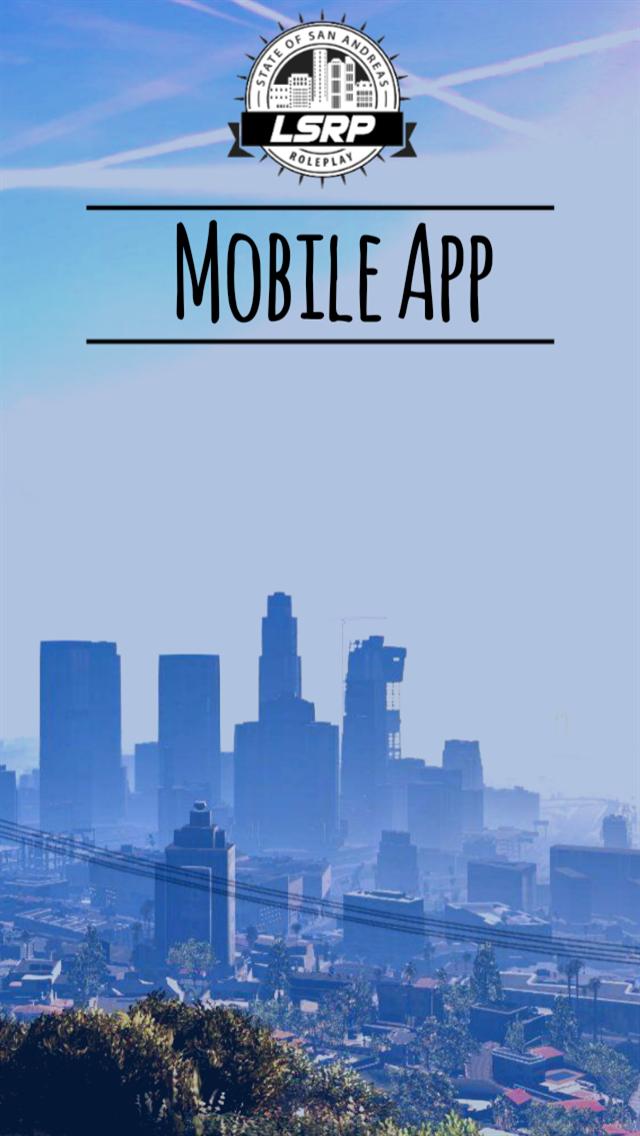 LSRP Mobile App