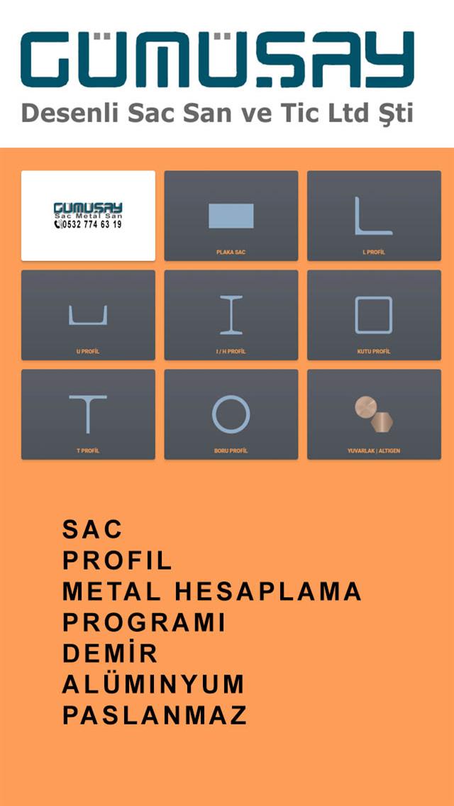 Sac Profil Hesaplama