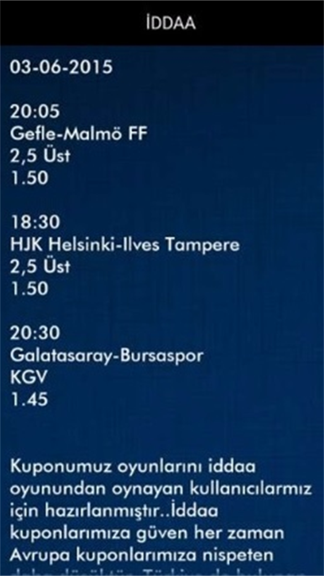 Tahminci - Free Soccer Tips