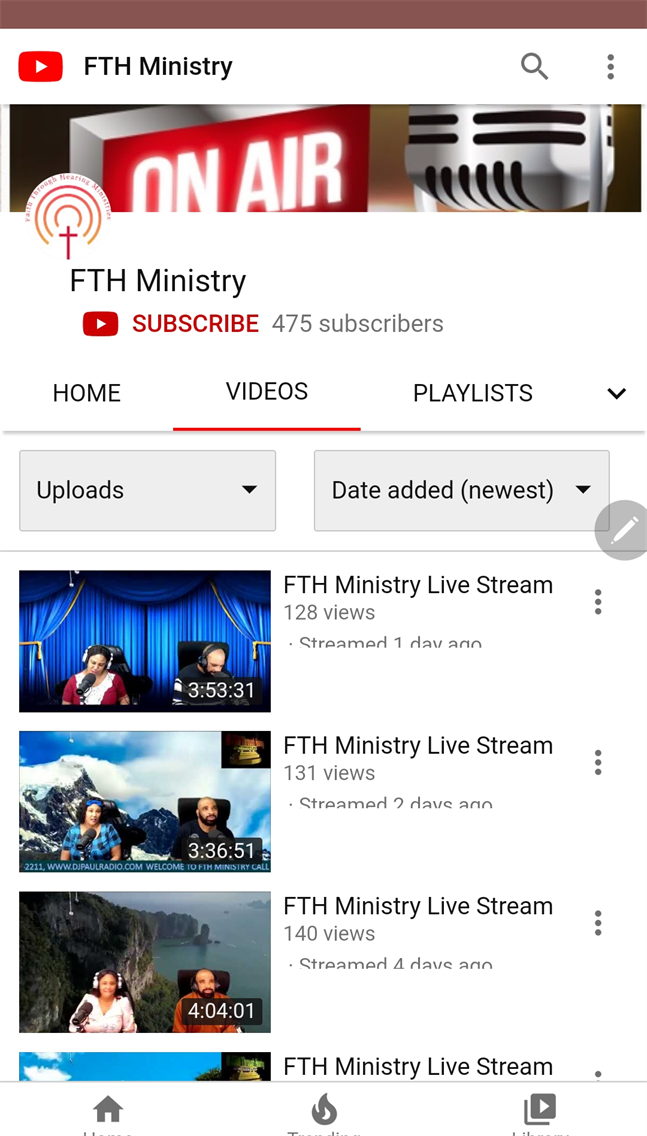F.T.H. Ministry