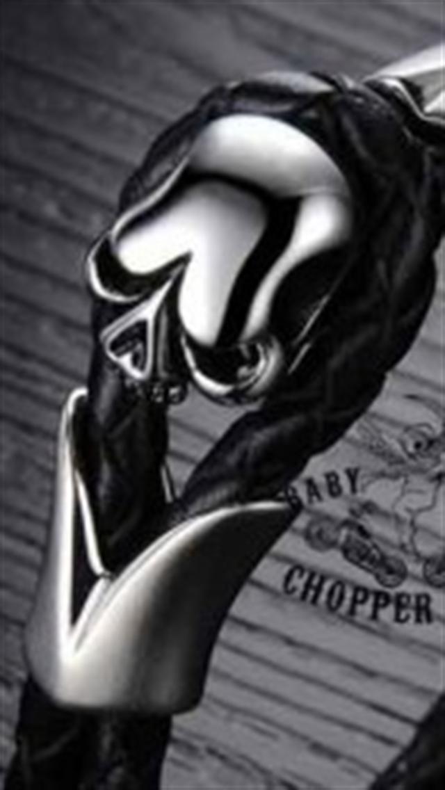 Baby Skull Chopper Giyim