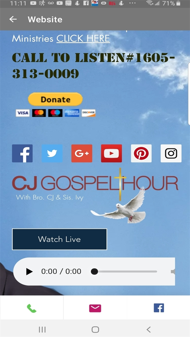 CJ Gospel Hour Family Movement