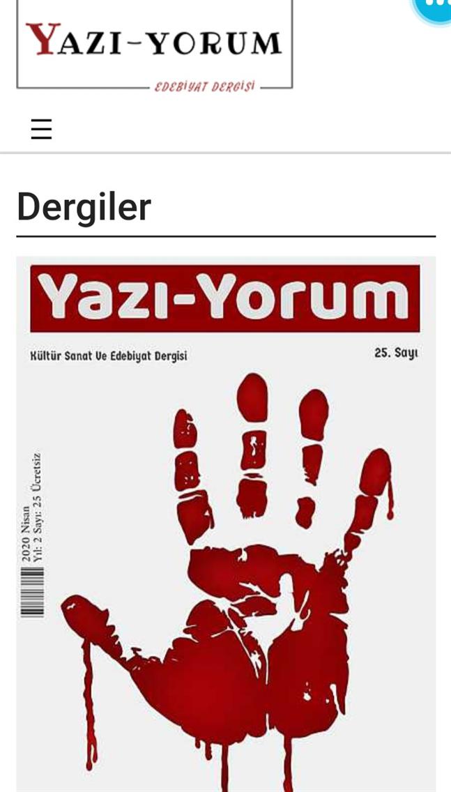 Yazı-Yorum Dergi