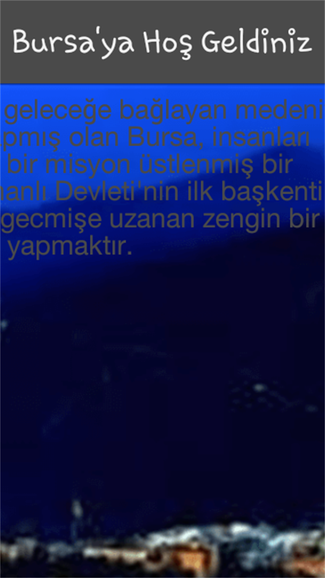 BURSA KENT REHBERİ