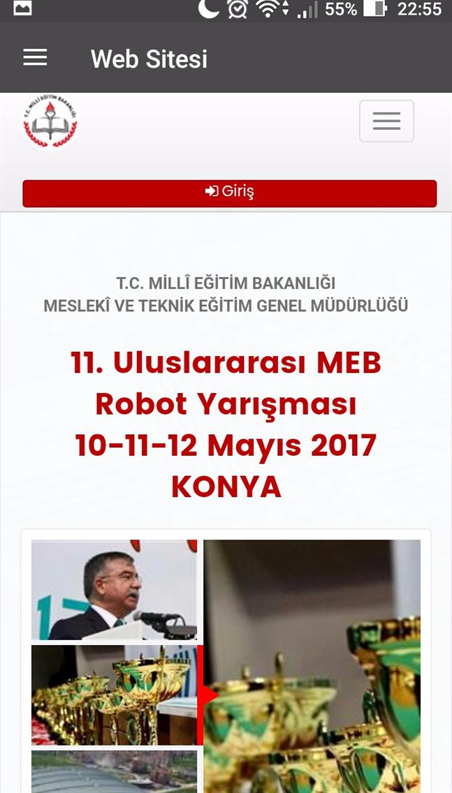 12. Robot Yarısması