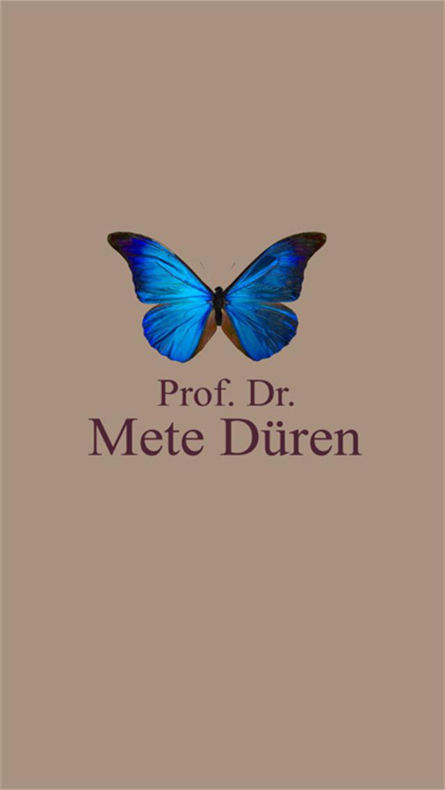 Prof. Dr. Mete Düren - App