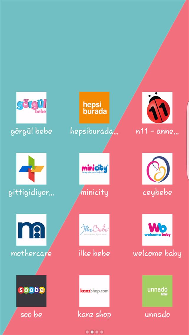 online anne & bebek mağazaları